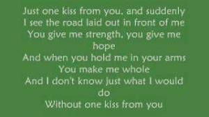 One Kiss From You